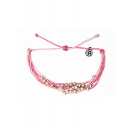 Zapestnica platinum - roza