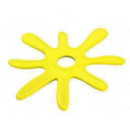 Eko podstavek za vročo posodo rumen