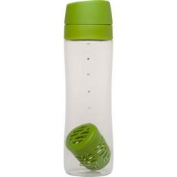 Steklenička za vodo infuse s filtrom 0.70l zelena