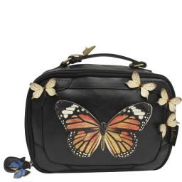 Toaletna torbica pralna Bohemia metulj