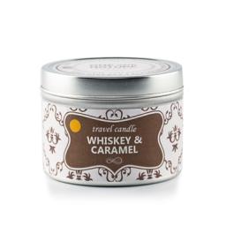 Potovalna sveča - Whiskey-Karamela
