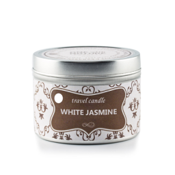 Potovalna sveča - Beli Jasmin