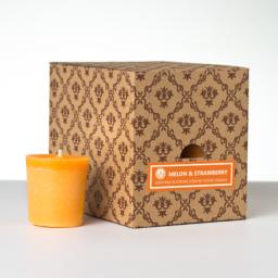 12 votivnih sveč v darilni škatli - Melona-Jagoda