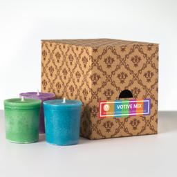 12 votivnih sveč v darilni škatli - Mix