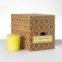 12 votivnih sveč v darilni škatli - Začinjena Vanilija