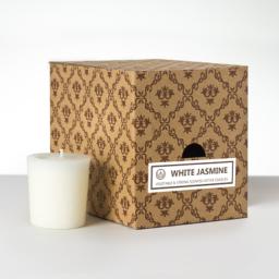 12 votivnih sveč v darilni škatli - Beli Jasmin
