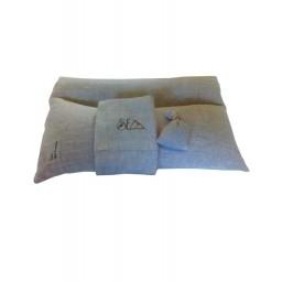 Naravna blazina pira-lan Rast 30x50 cm