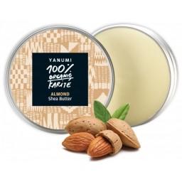 100% naravno karitejevo maslo z mandljevim oljem 100 ml