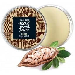 100% naravno karitejevo maslo s kakavom, 100 ml