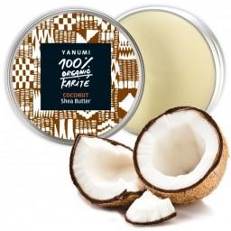 100% naravno karitejevo maslo s kokosovim oljem, 100 ml