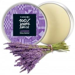 100% naravno karitejevo maslo z vonjem sivke 100 ml