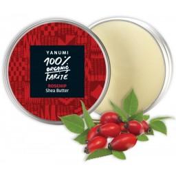 100% naravno karitejevo maslo s šipkom, 100 ml