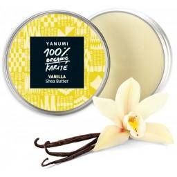 100% naravno karitejevo maslo z vanilijo, 100 ml