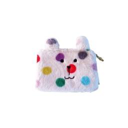 Plišasta kozmetična torbica Zajček