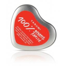 Srček s 100% naravnim karitejevim maslom in mandljevim oljem  50 ml