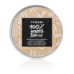 100% naravno karitejevo maslo z mandljevim oljem 120 ml