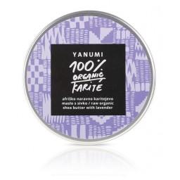 100% naravno karitejevo maslo z eteričnim oljem sivke 120 ml