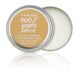 100% naravno karitejevo maslo z mandljevim oljem za nego ustnic 9 ml