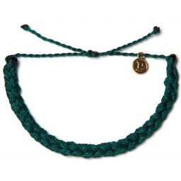 Zapestnica pletena - modrozelena