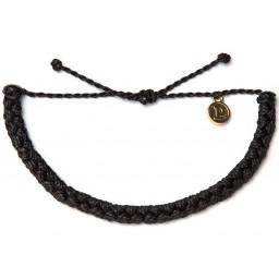 Zapestnica pletena - črna