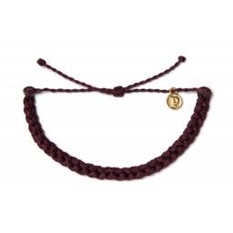 Zapestnica pletena - temno vijolična