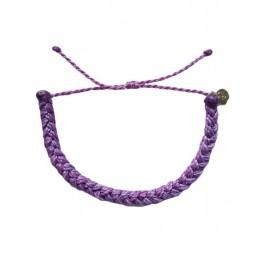 Zapestnica pletena - vijolična