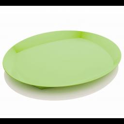 Servirni pladenj zelen