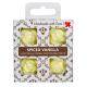 4 dišeči voski v darilni škatlici - Začinjena Vanilija