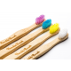 Eko zobna ščetka bambus otroška