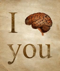 Ljubim te z vsemi mojimi možgani